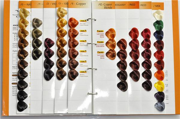 professional hair color cream carte de couleur charte de prix d 39 usine photo sur fr made in. Black Bedroom Furniture Sets. Home Design Ideas