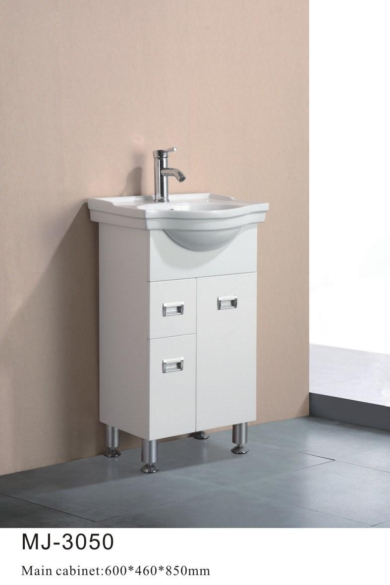 Armário de banheiro branco do PVC (MJ3050) –Armário de banheiro branco do PV -> Armario Para Banheiro Pvc