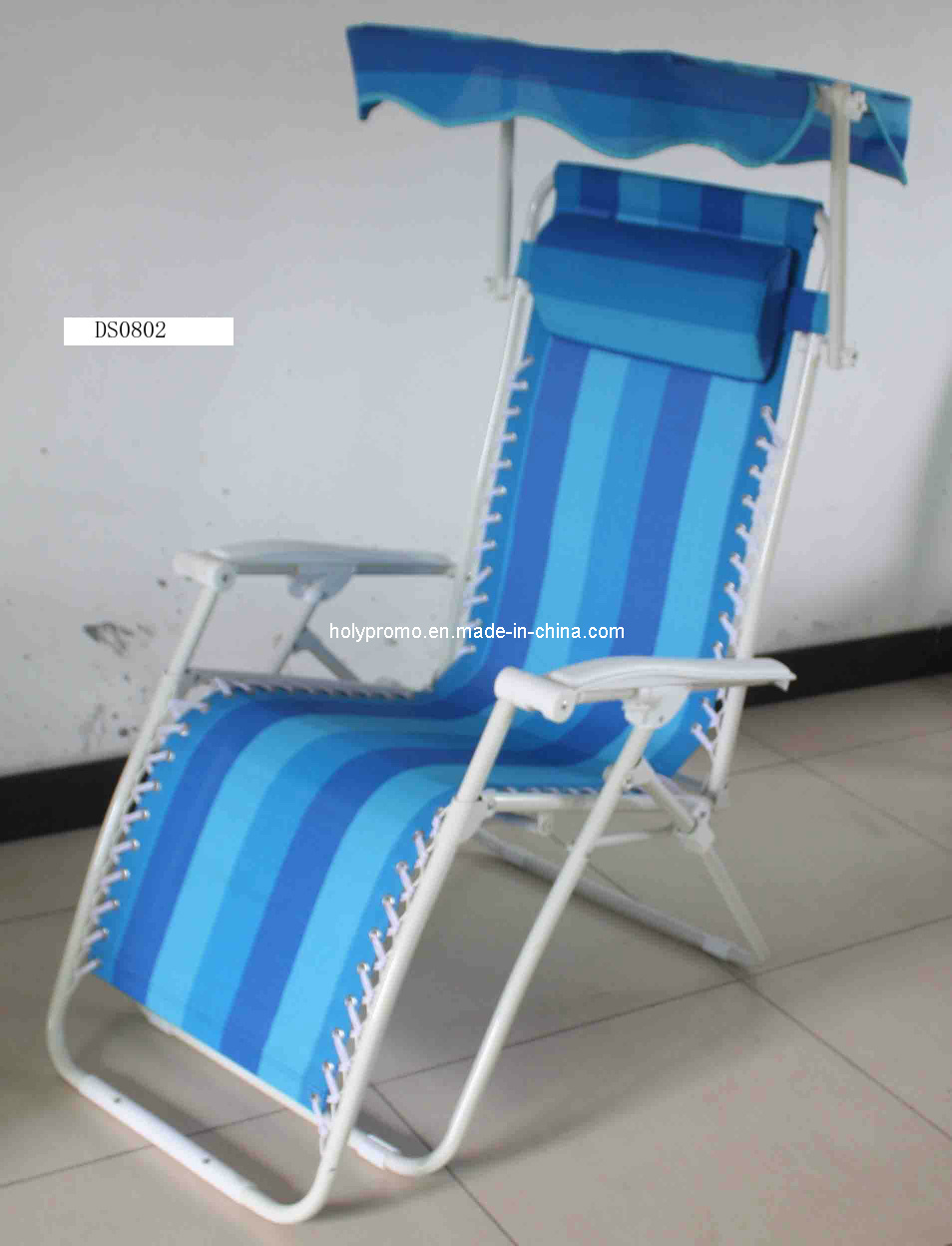 Playa chair con sun shade ds0802 playa chair con sun for Sillas para la playa