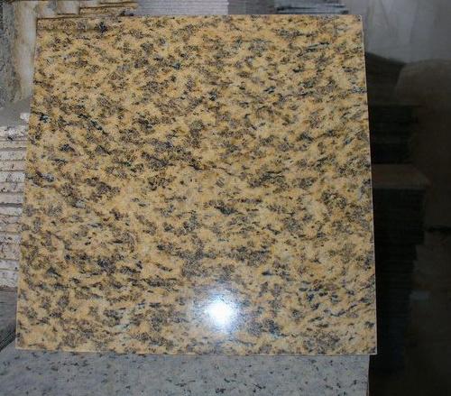 Azulejos del granito suelo del granito amarillo de la for Suelo de granito