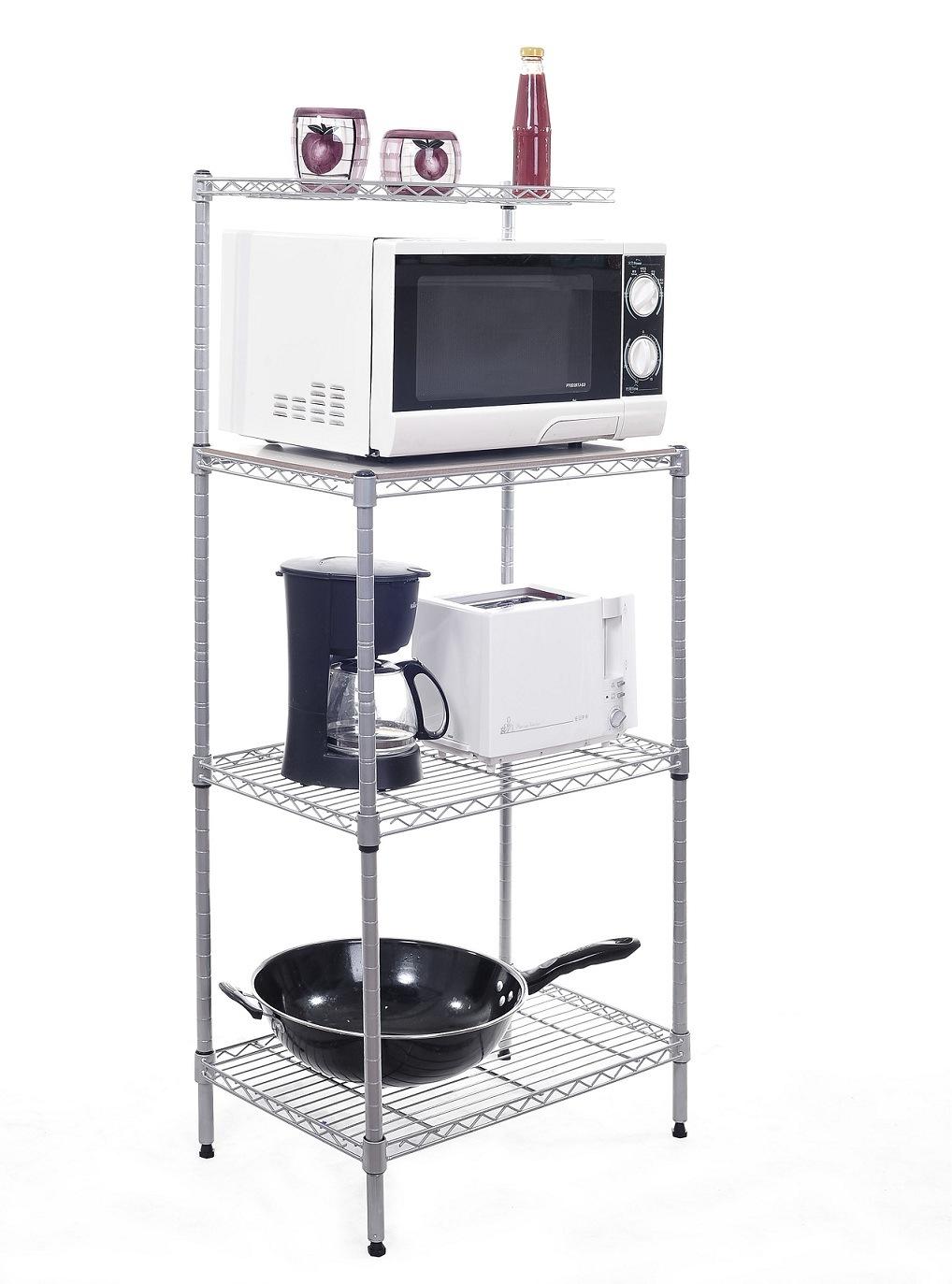Estanter a del almacenaje de la cocina de 4 estantes - Almacenaje de cocina ...