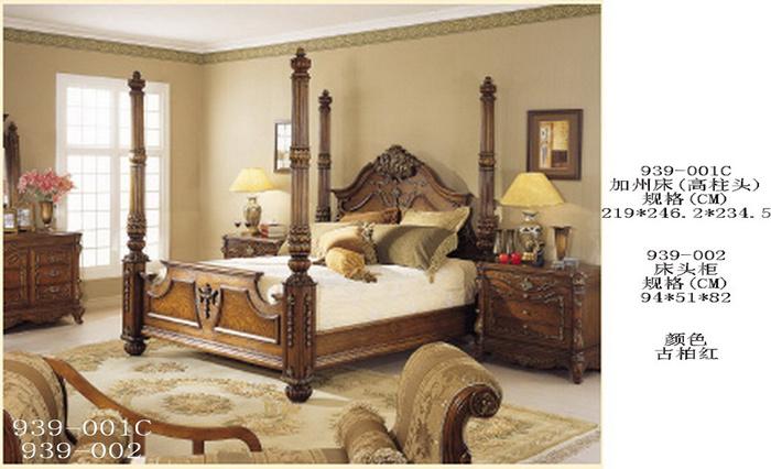 Muebles del dormitorio cama muebles antiguos muebles de - Muebles de dormitorio antiguos ...