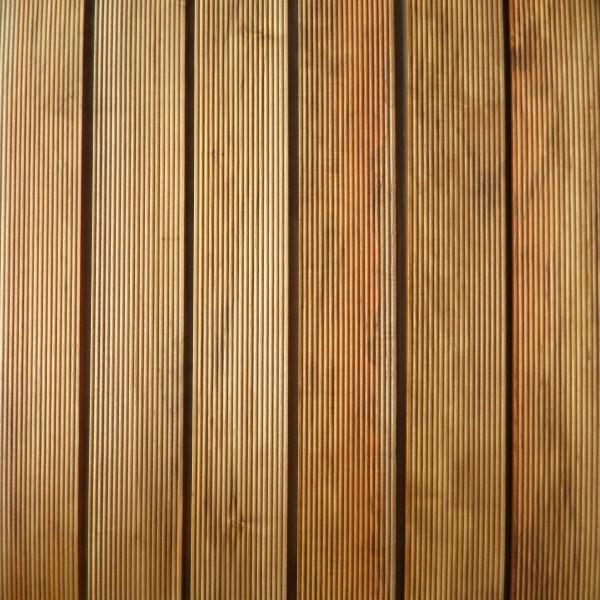 Decking en bois plein de plancher de teck extérieur d'utilisation photo sur fr Made in China com # Plancher En Bois Extérieur