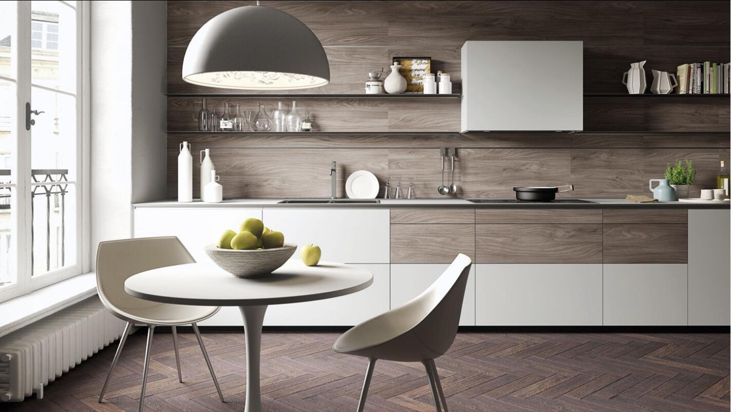 Disegno modulare UV della cucina di alta lucentezza di stile di ...
