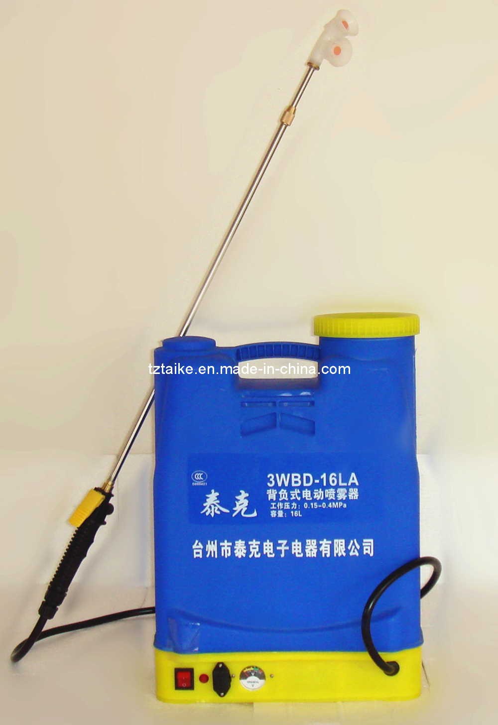 Giardino sprayers battery sprayer 3wbd 16la dello zaino for Spruzzatori giardino