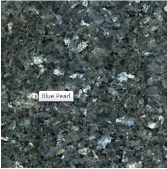 Granito importado perla azul de la india granito for Colores de granito importado