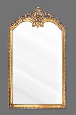 De grote antieke gouden decoratieve pu ontworpen spiegel van de muur 284 de grote antieke - Meubilair van de ingang spiegel ...