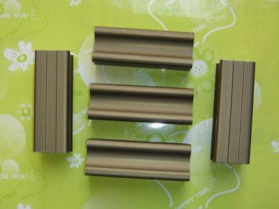 Perfiles de aluminio en el bronce anodizado perfiles de - Perfil aluminio anodizado ...