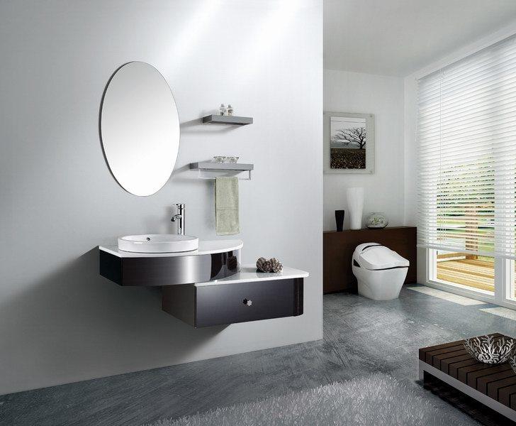 badezimmer m bel suite schrank des edelstahl 304 foto auf de made in. Black Bedroom Furniture Sets. Home Design Ideas
