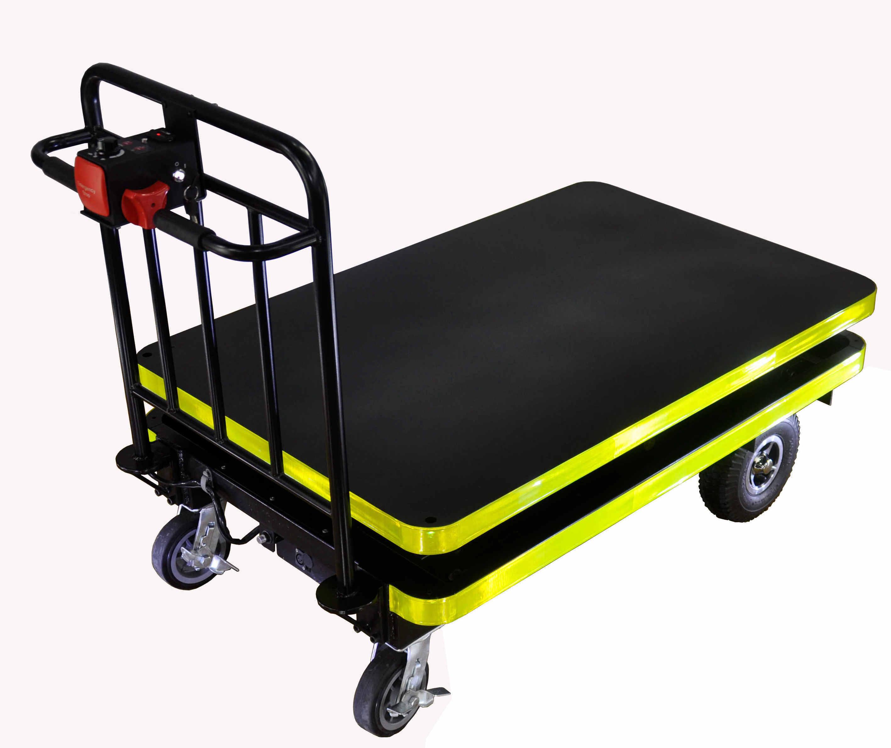 Chariot hydraulique lectrique de table l vatrice for Castellano electric motors inc