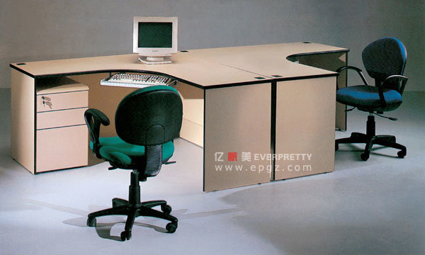 Poste de travail de personnel pour deux personnes poste for Bureau 2 personnes