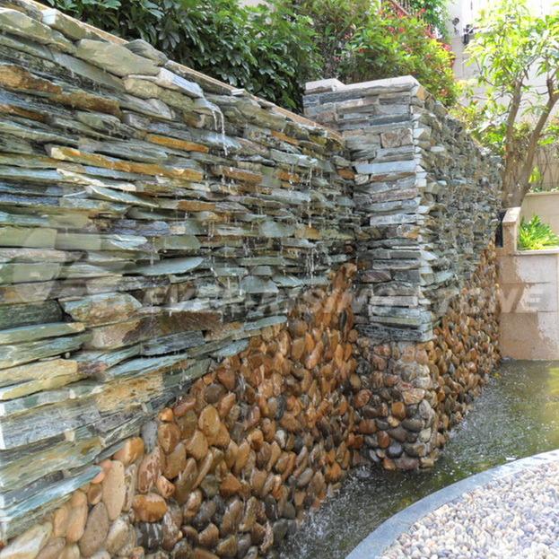 Foto de las fuentes de la pizarra revestimientos de la - Fuentes de pared de piedra ...