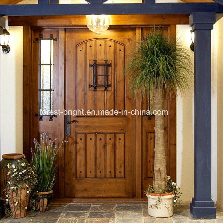 Puertas de madera de entrada principal ltima dormitorio for Puertas principales rusticas madera