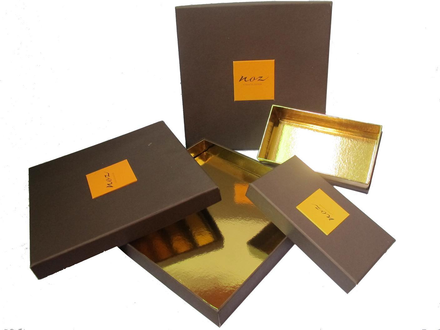 packaging chocolat vanille the