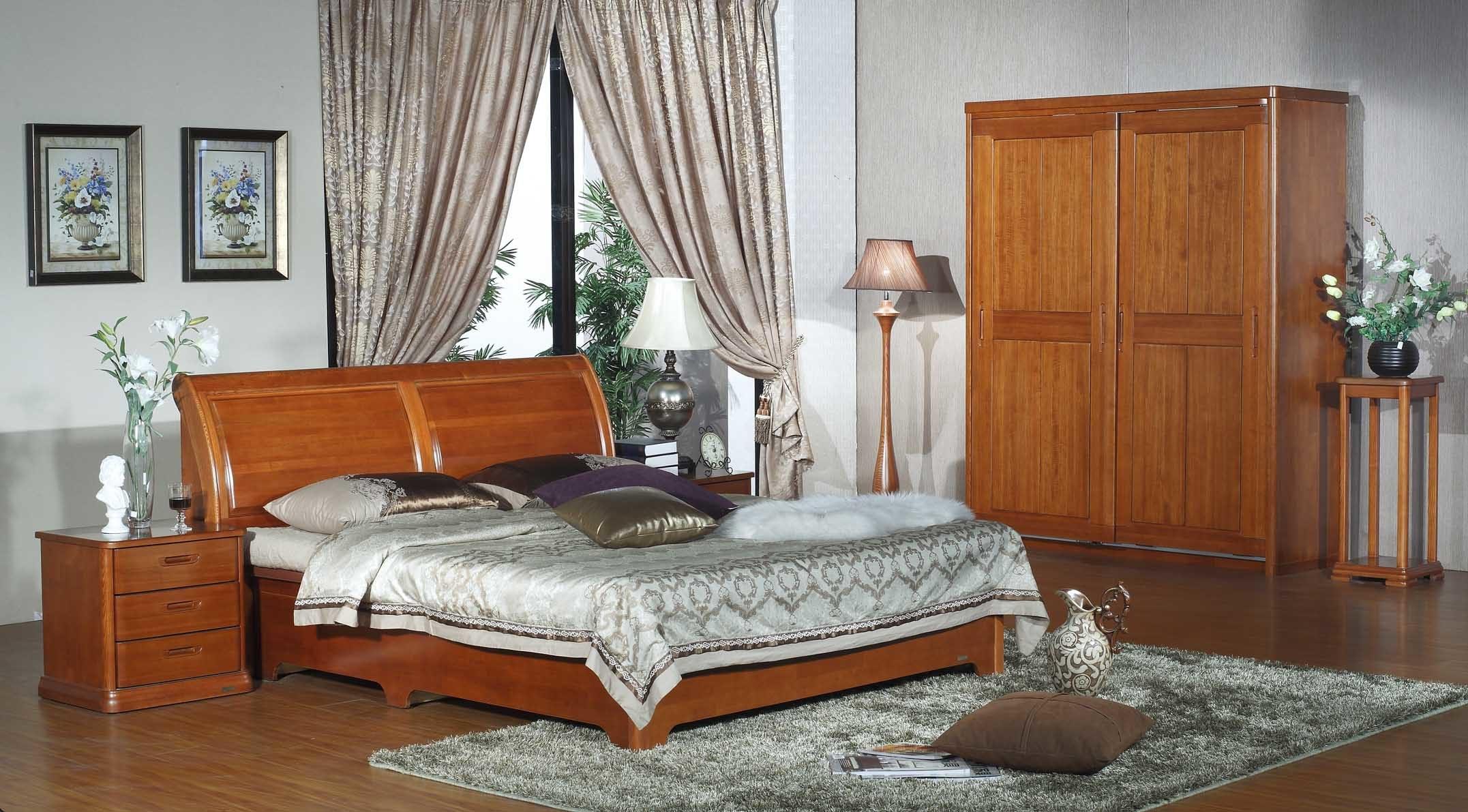 Meubles de chambre coucher cart type meubles de for Temperature chambre a coucher