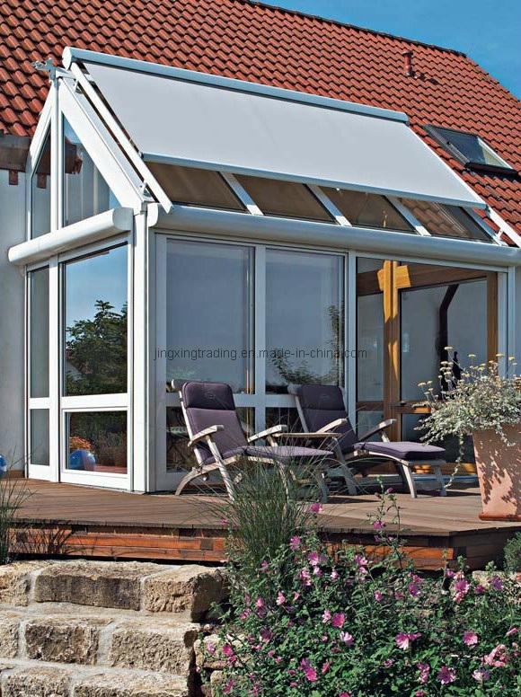 Inteligente tragaluz techo toldo parasol canopy para patio for Proveedor de toldos