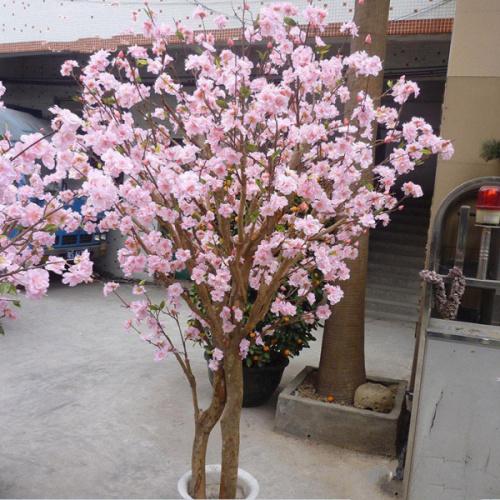 Hermosos arboles artificiales flores de cerezo con dos - Arboles artificiales ...