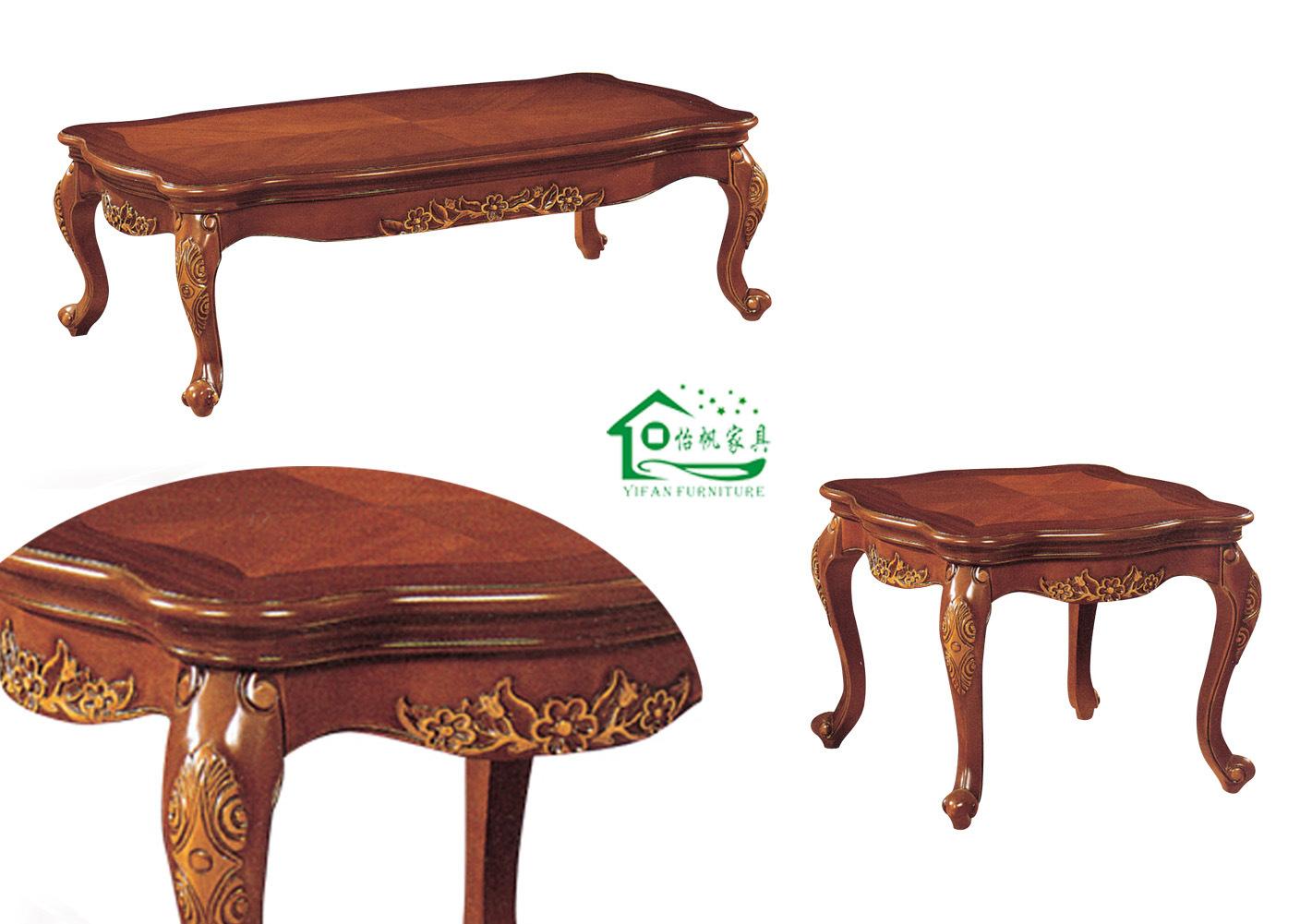 Mesa de centro de madera para sofa yf d11 mesa de - Mesa de centro de madera ...