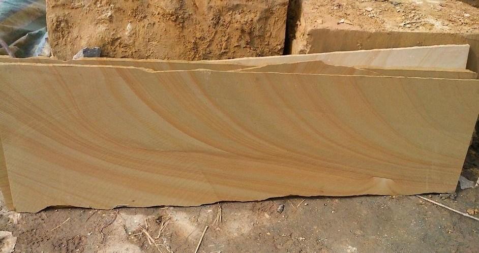 Gelber h lzerner sandstein fliesen sandstein platten for Sandstein fliesen