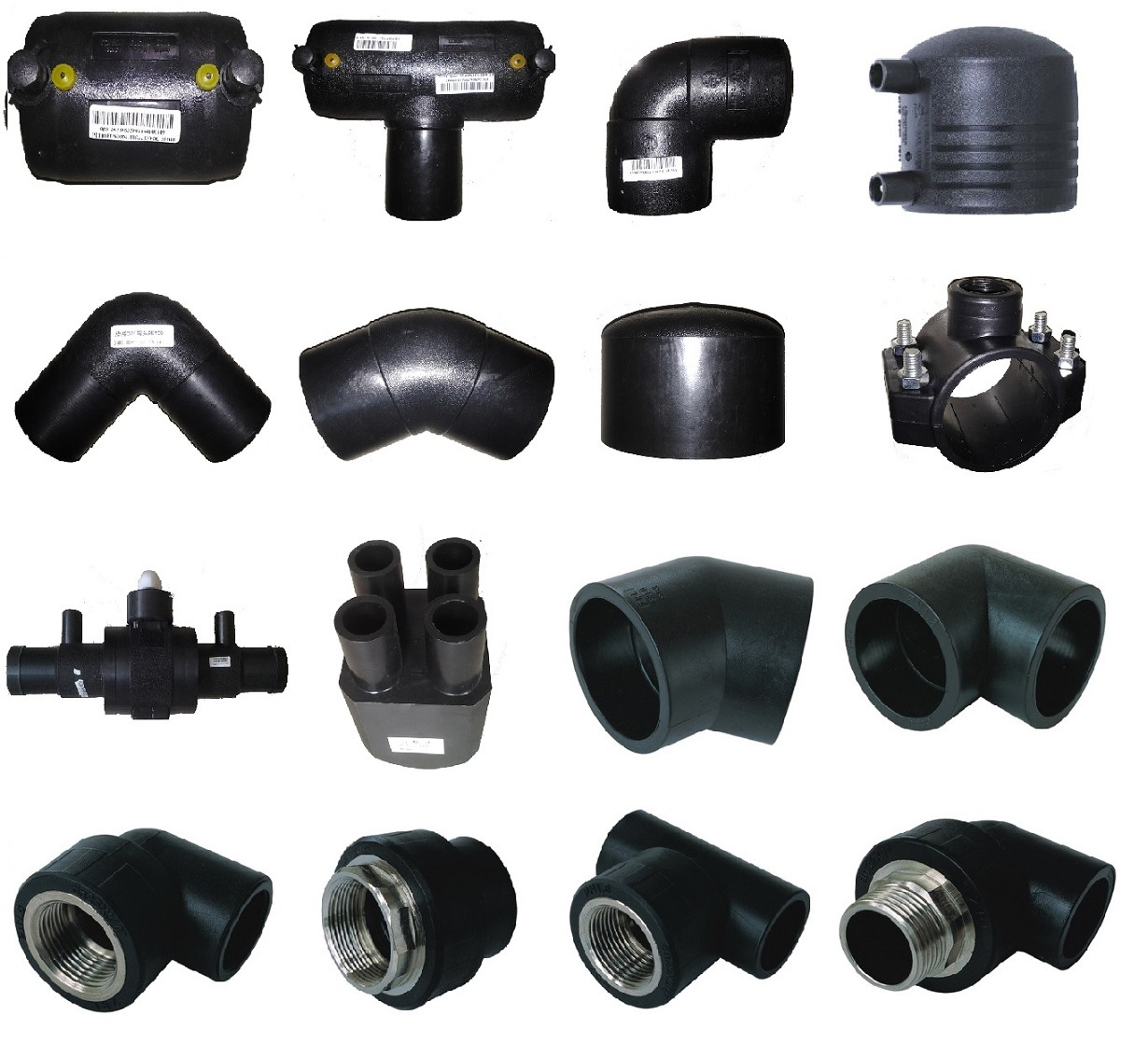 Hdpe fittings、gas pipe water iso 、en のための