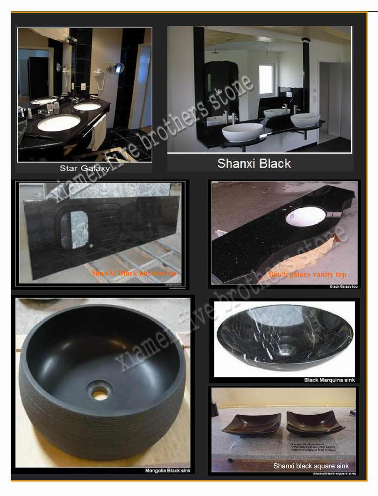 stone noir granite countertop pour kitchen bathroom wash. Black Bedroom Furniture Sets. Home Design Ideas