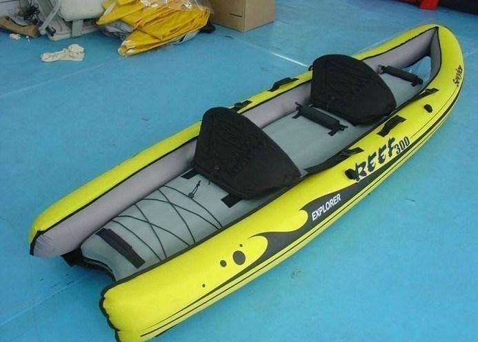 Barca gonfiabile pvc kayak pvc barca pvc peschereccio - Barca porta bote ...