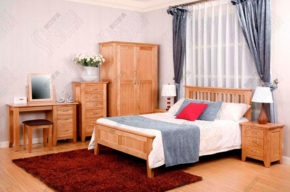 Muebles de madera del dormitorio  cama matrimonial – Muebles de