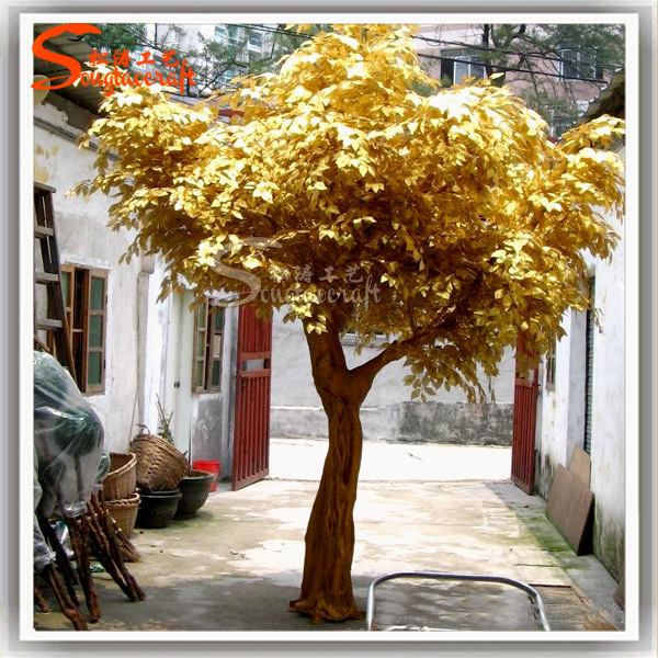 Arbre de banian artificiel d coratif ext rieur de for Arbre decoratif exterieur