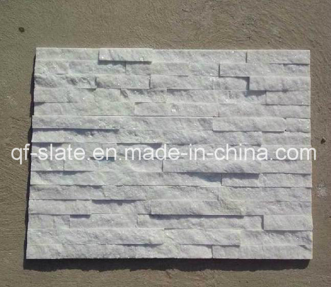 Pure et naturelle carrelage blanc quartzite quartz for Carrelage quartzite