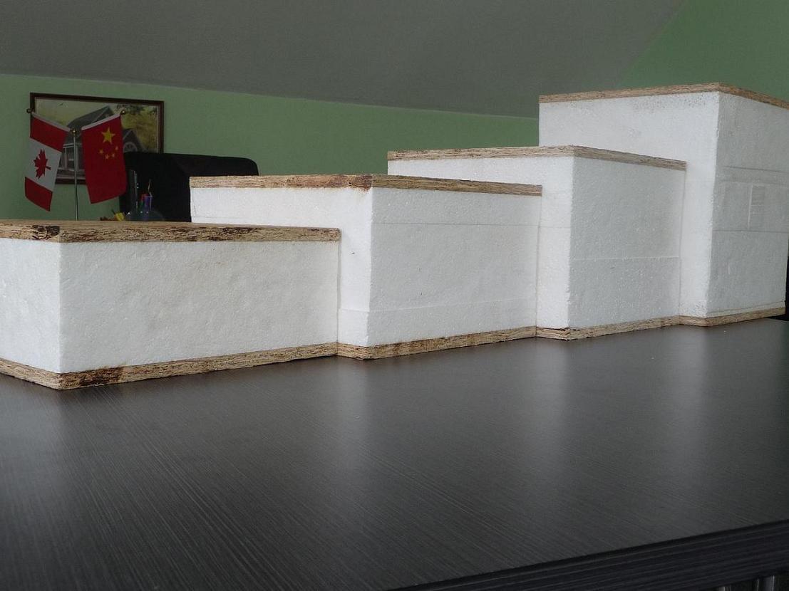 Foto De Los Paneles Aislados Estructurales Diversos Sips