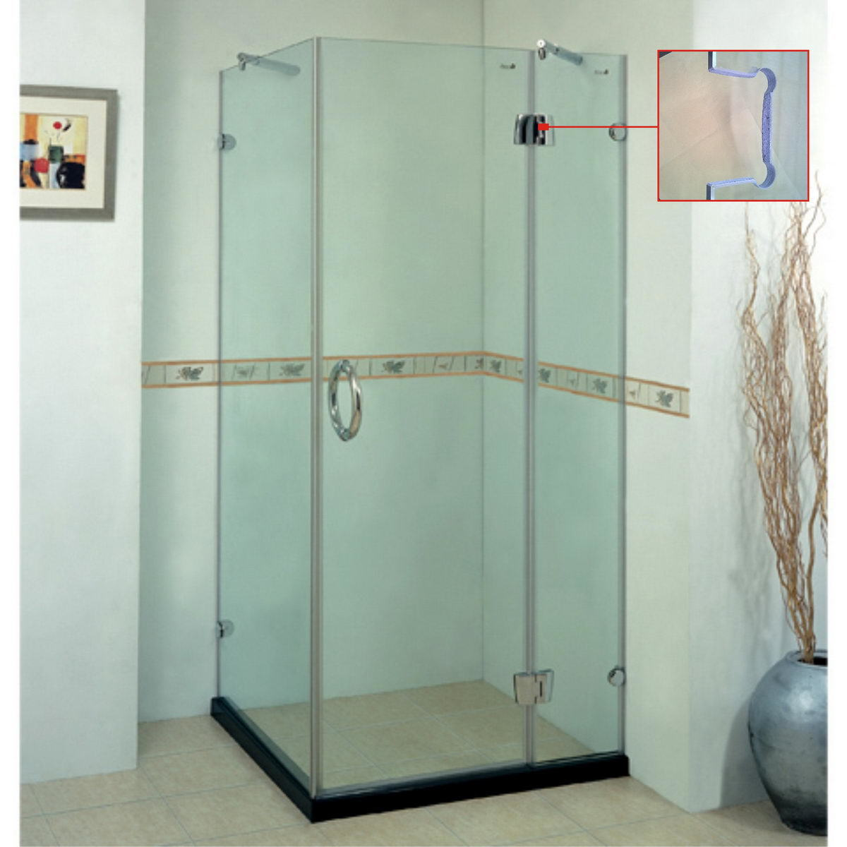 Baos con puertas de vidrio elegant cool tipo de producto - Puertas de vidrio ...