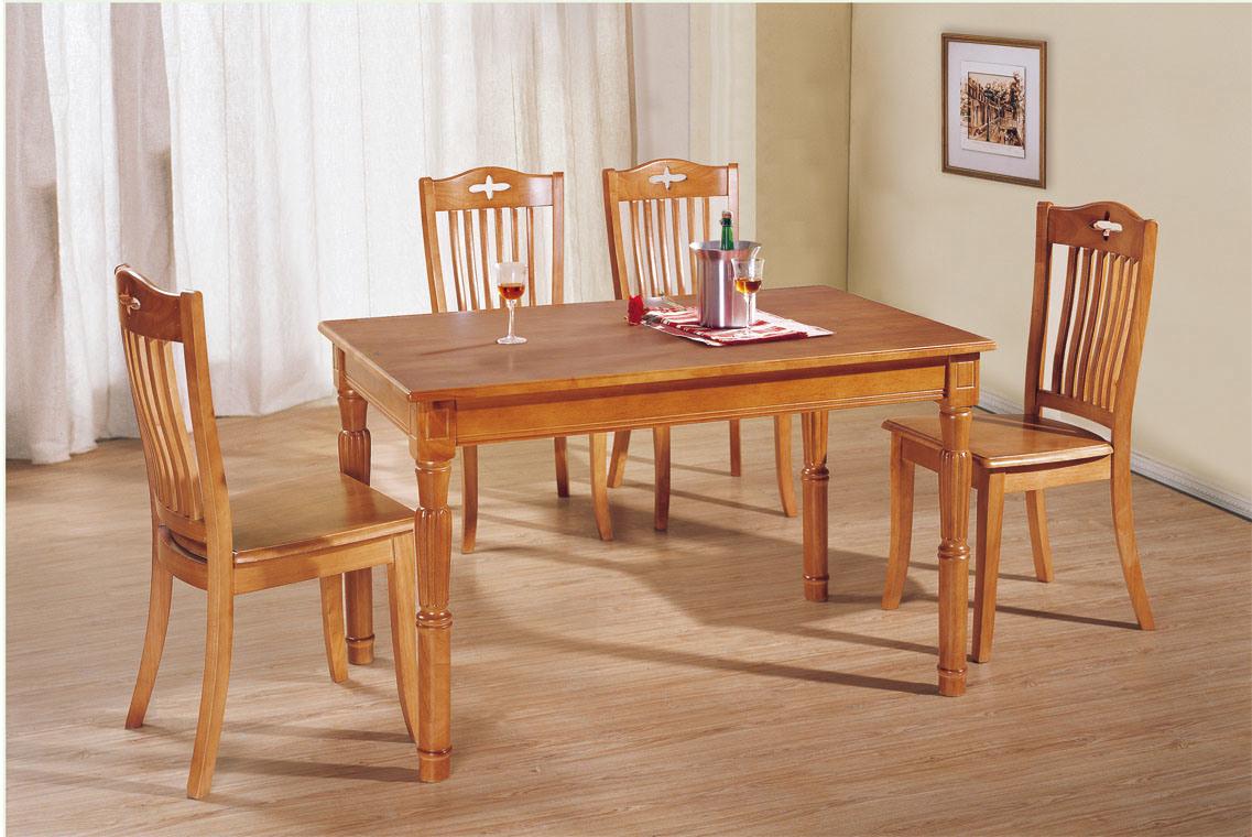 Tabla de madera tabla de cena muebles del comedor t908 - Muebles del comedor ...