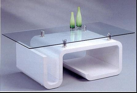 Mesa de centro de cristal del nuevo estilo (ym 4052) – mesa de ...
