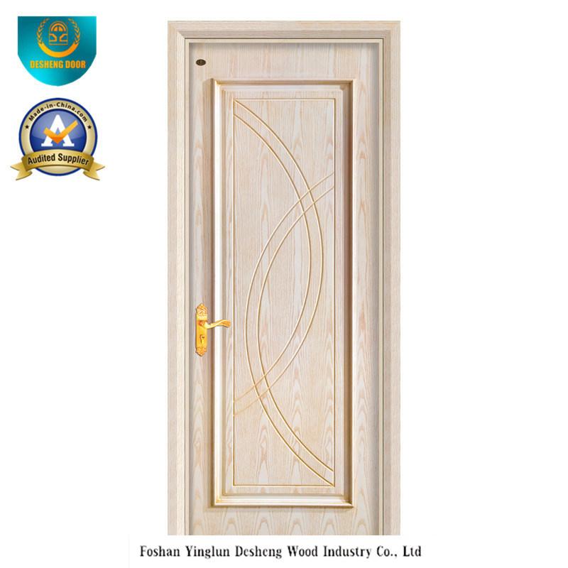 Porte en bois compos e pleine de mod le moderne pour l Porte pour chambre en bois
