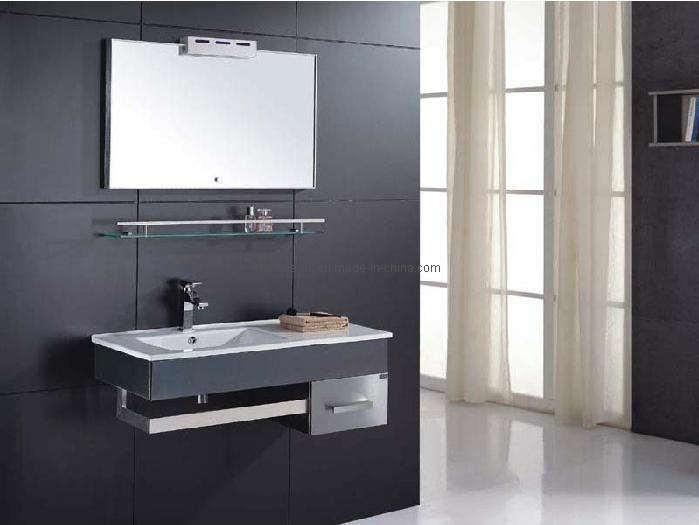 Gabinete de cuarto de ba o del acero inoxidable ks6040 for Set de bano acero inoxidable