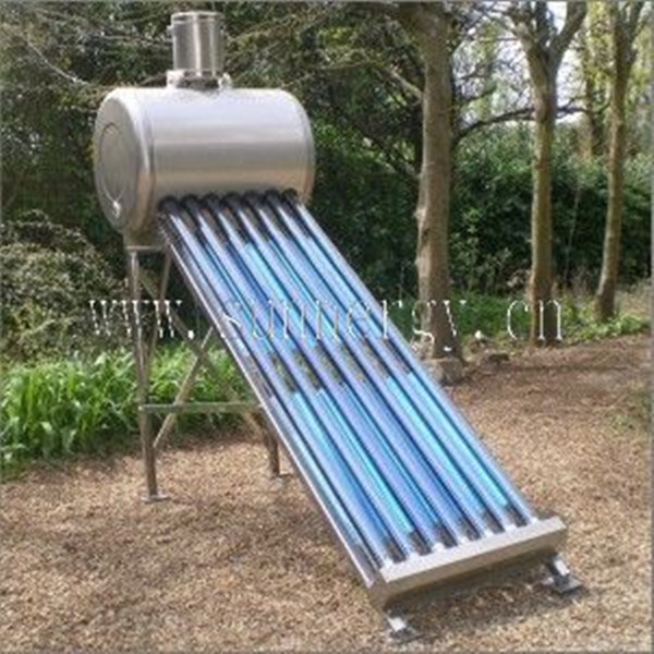 Mini calentador de agua solar estupendo para la piscina for Calentador solar piscina casero