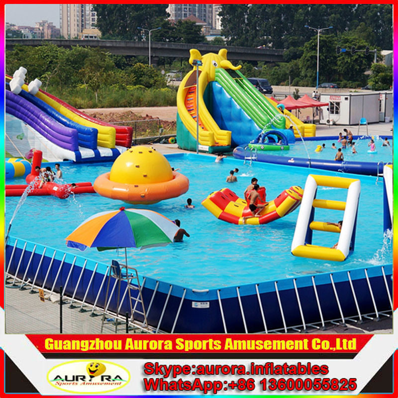 Piscina de agua inflable f brica inflable de la for Fabrica de piscina