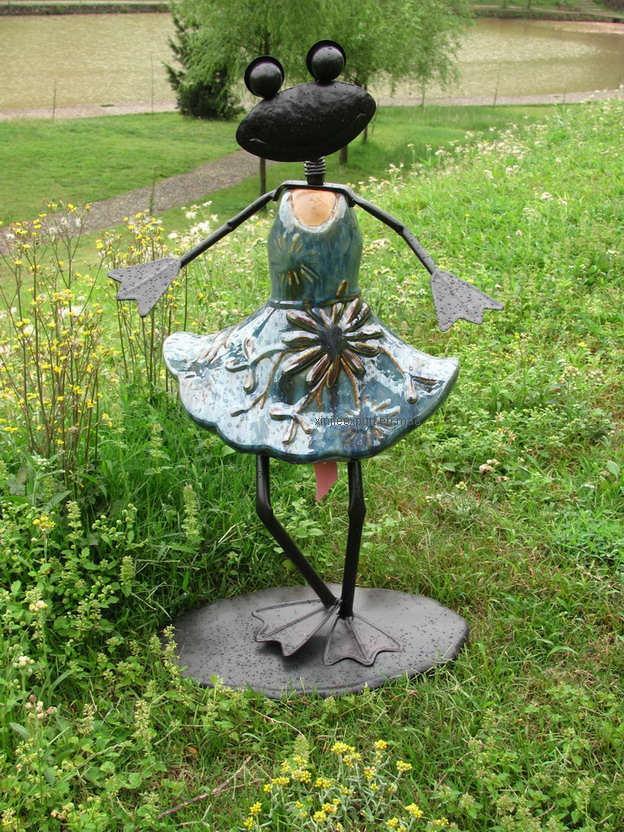 Садовые скульптуры своими руками из металла