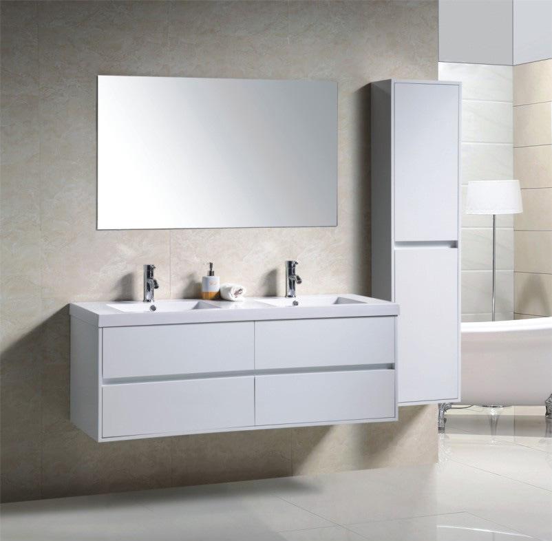 Foto de Armário espelhado do PVC do projeto do Embossment da forma banheiro m # Armario Banheiro Moderno