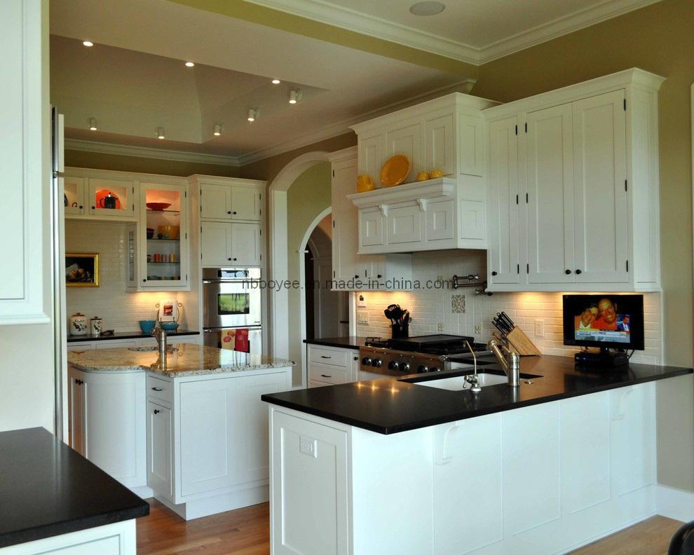 Laca elevada lustrosaMattarmário de cozinha pintado BEL048 da laca do MDF  # Armario De Cozinha Bel Air