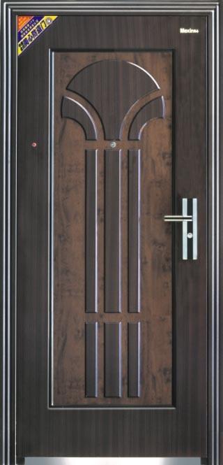 Calor transferir la puerta de entrada del metal de la for Modelos de puertas de metal