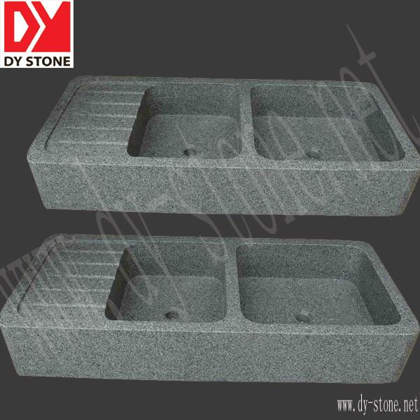 Fregadero de cocina del granito fregadero de piedra dy for Piedra granito para cocina precios