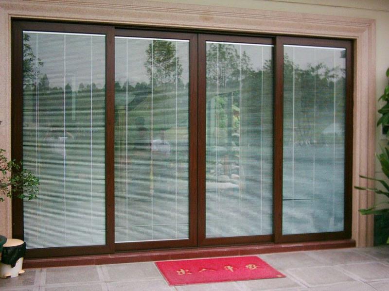 porte coulissante en aluminium de patio hdad s004 porte
