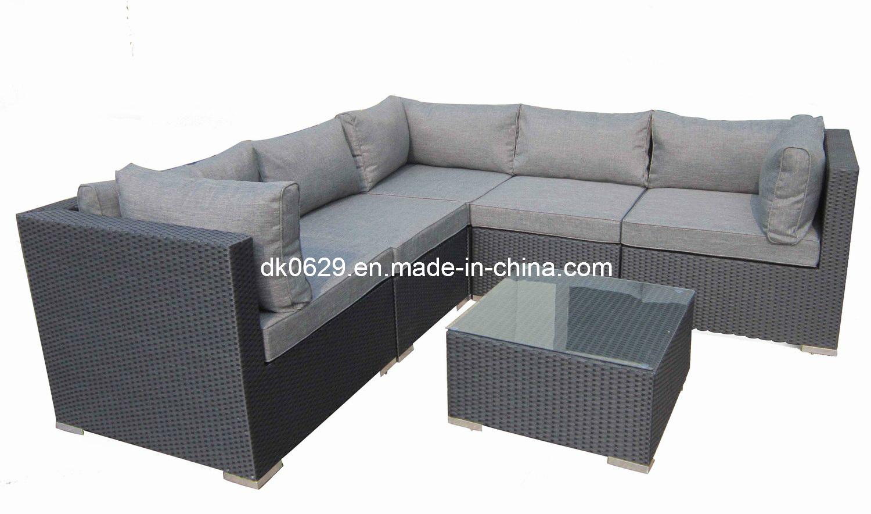 Sofa de jardin sofa en osier de jardin sofa en osier de for Sofas para jardin