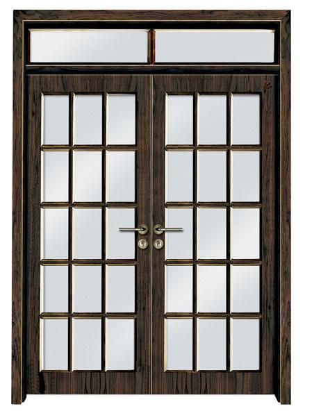 Puerta doble de madera s lida ht sd 116 puerta doble for Puerta doble madera