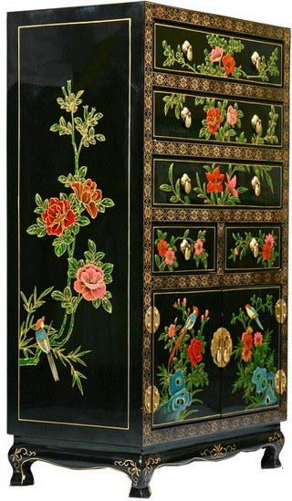 Muebles pintados a mano antiguos muebles pintados a mano for Muebles pintados a mano
