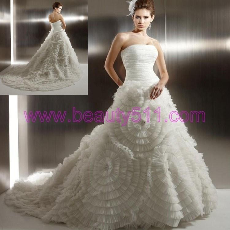 robe de mariage 2012 l gante as158 robe de mariage. Black Bedroom Furniture Sets. Home Design Ideas
