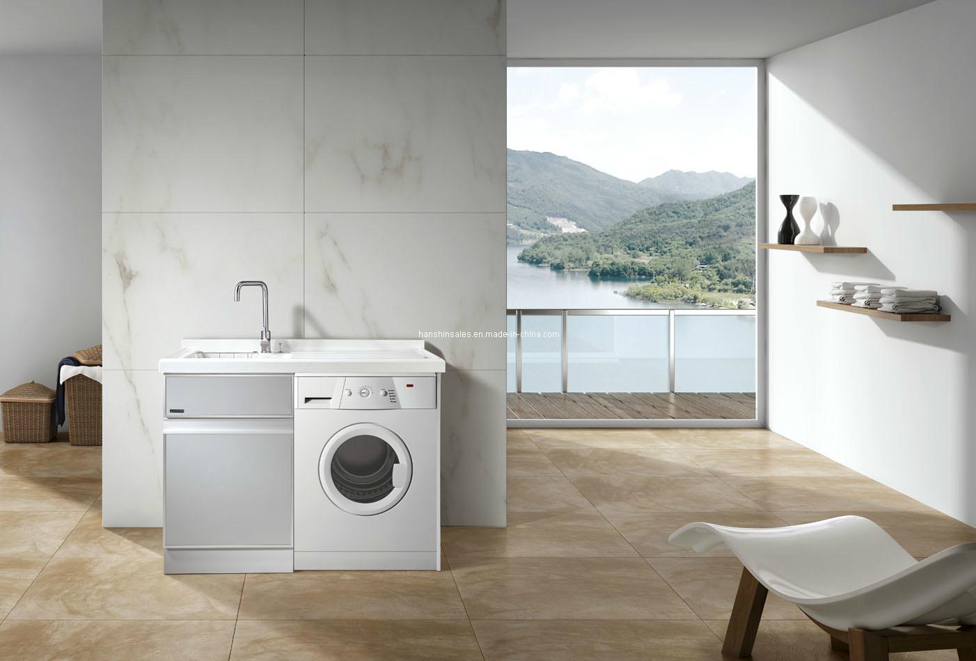 Gabinete del lavadero del cuarto de ba o xd120s for Lavadero para bano