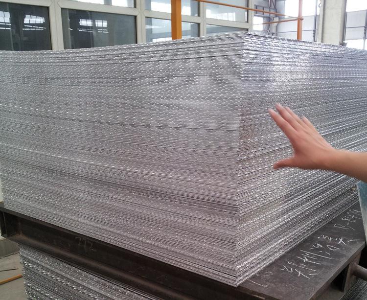 Plaque antid rapante pour la plaque d 39 aluminium de diamant refl t e par plancher photo sur fr - Plaque aluminium antiderapante ...