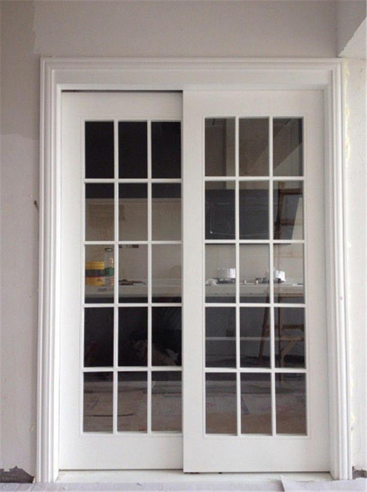 Foto de puertas dobles de ritz para bedromm o la puerta for Puertas dobles de madera